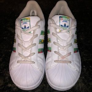 Adidas Shoes - RARE Adidas Originals Superstar Aloha Shelltoes